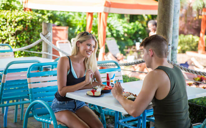Shop and Dine at Adventure Island Tampa Bay with a Cashless Wristband