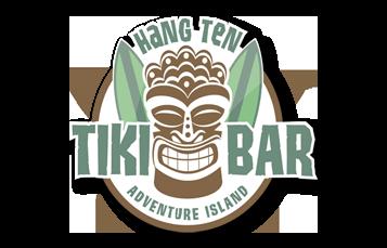 All-New Hang Ten Tiki Bar at Adventure Island