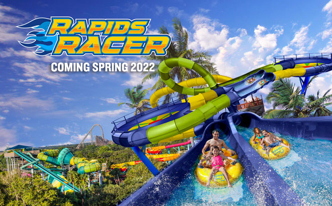 Rapids Racer at Adventure Island