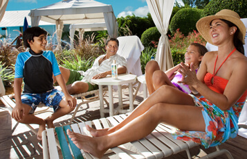 Make family-time a breeze with your own private cabana at Adventure Island Tampa Bay