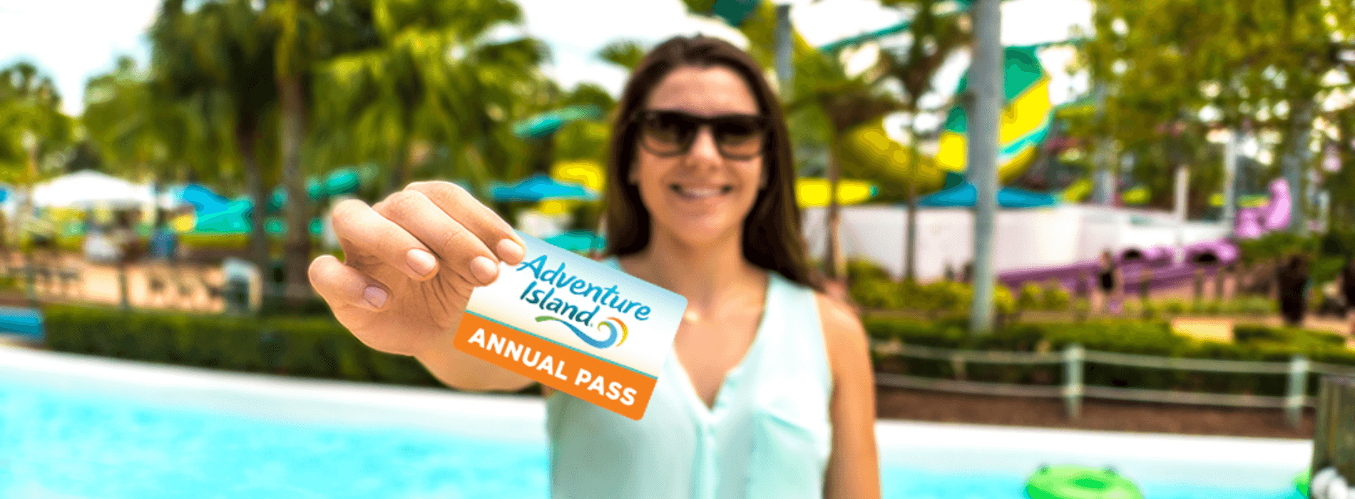 Adventure Island Pass Members receive many great benefits such as unlimited admission, free parking, discounts on dining and merchandise, and more!