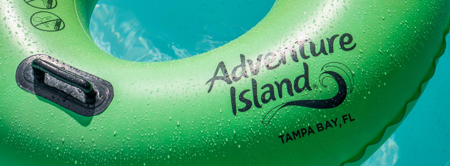Tube at Adventure Island Tampa Bay