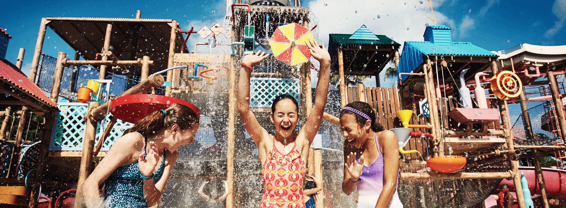 Splash Attack Pool at Adventure Island Tampa Bay