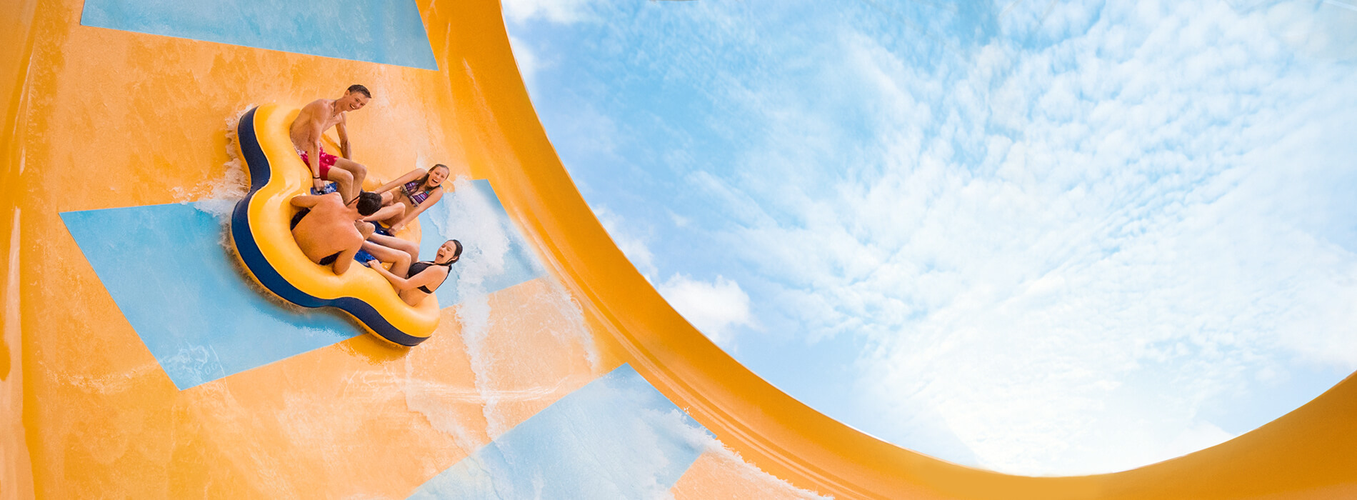 Colossal Curl Water Slide at Adventure Island Tampa Bay