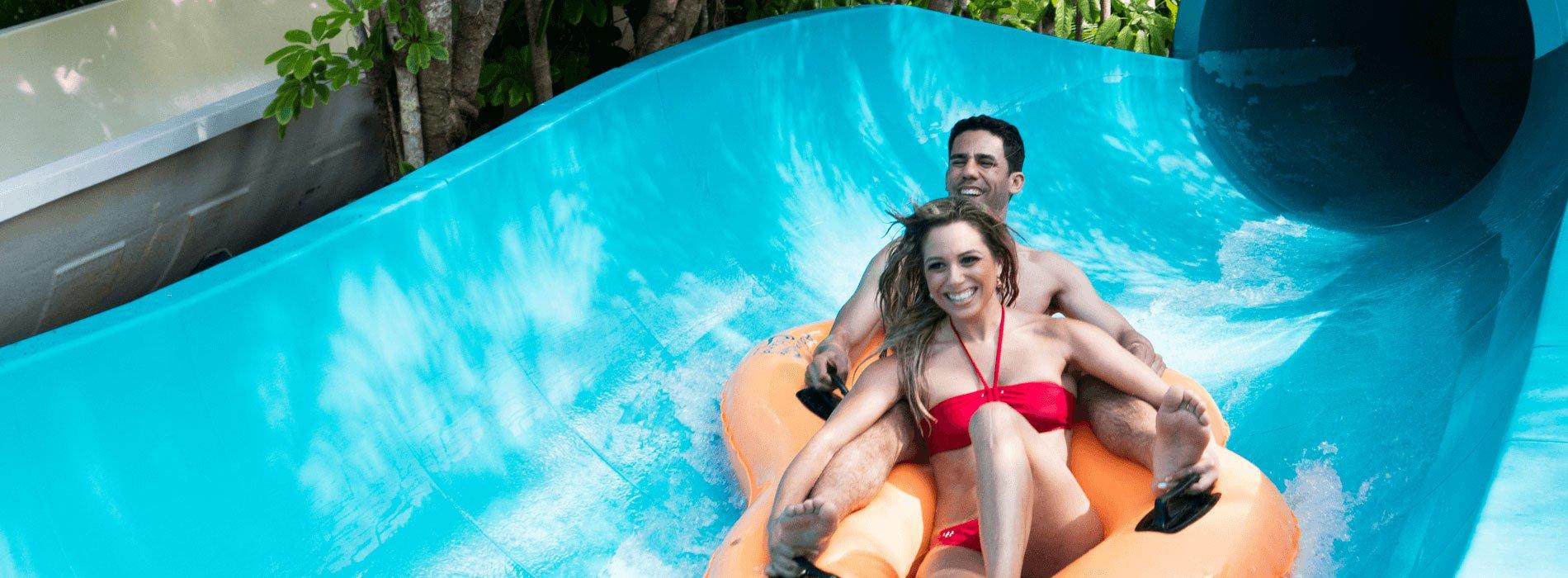 Calypso Coaster Water Slide at Adventure Island