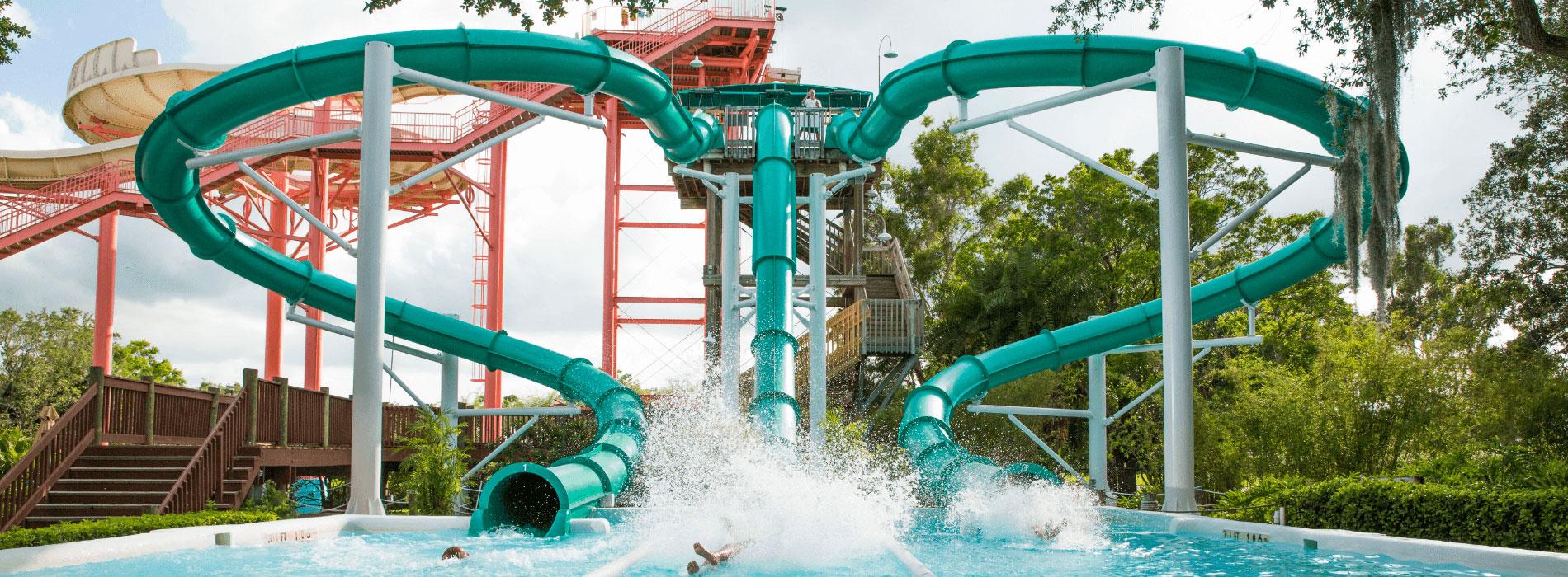Water Moccosan Water Slide