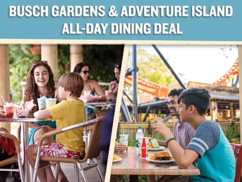 Two Park All Day Dining Deal