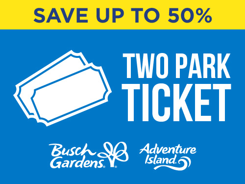 Two Park Ticket Save up to 50%