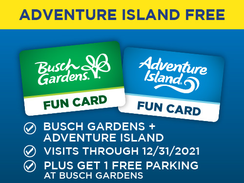 Adventure Island Free. Plus get 1 Free Parking