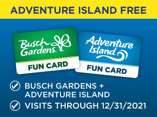 Buy Busch Gardens Get Adventure Island Free