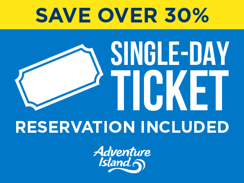 Adventure Island Black Friday Sale Ticket