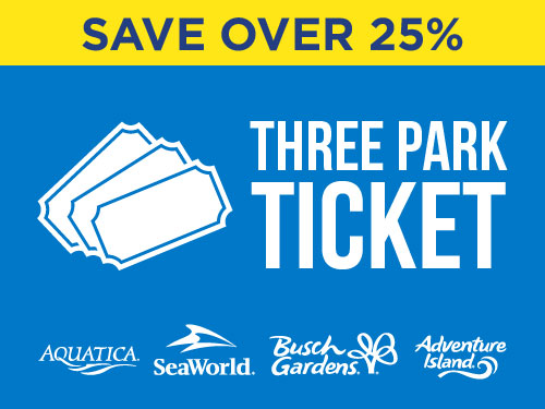 Save Over 25% On Three Park Tickets at Adventure Island
