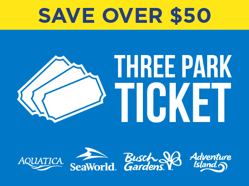 Save Over $50 on a Three Park Ticket