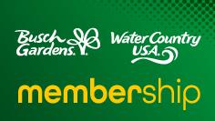 Busch Gardens & Water Country USA Membership