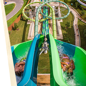 Water Country USA - Vanish Point drop slide