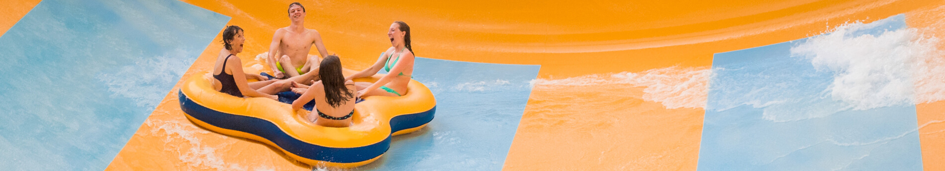 Water slides and attractions at Water Country USA