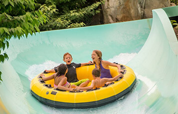 Big Daddy Falls water slide at Water Country USA