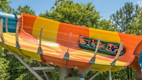 Cutback Coaster at Water Country USA