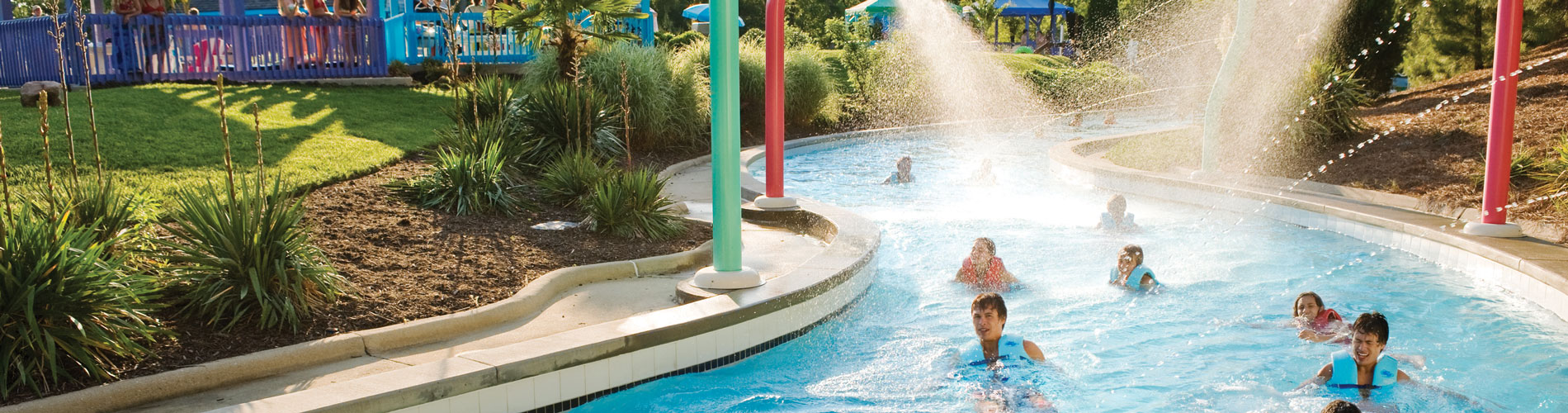 Hubba Hubba Highway - lazy river adventure at Water Country USA