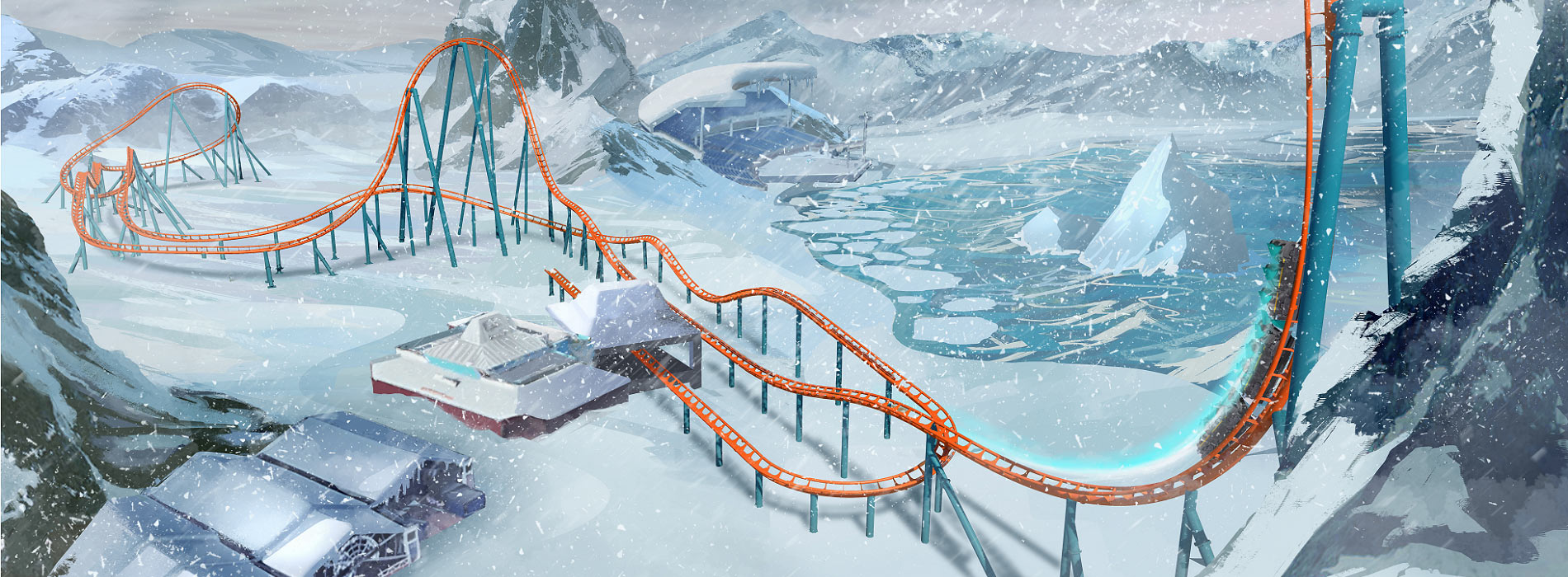 Ice Breaker at SeaWorld Orlando - launches this Spring!