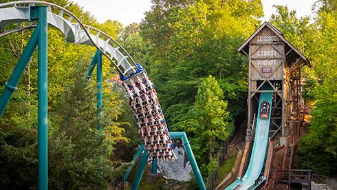 Busch Gardens in Wiliamsburg VA