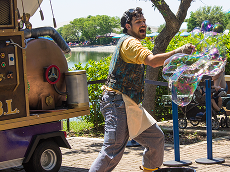 Bubble Man Actor