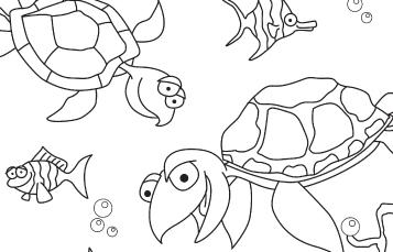 Sea Turtle Friends