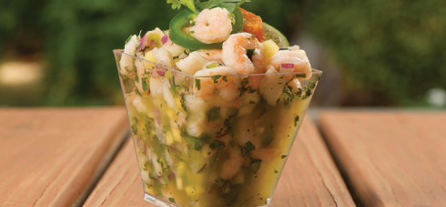 Seafood Cerviche