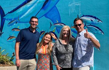 Guy Harvey's Team Visits SeaWorld Orlando
