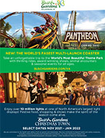 Busch Gardens Williamsburg and Water Country USA Brochure Cover