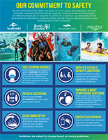 SeaWorld Parks and Entertainment Commitment to Safety Flyer