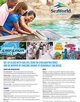 SeaWorld San Diego Sales Flyer