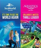 SeaWorld Orlando Brochure Cover
