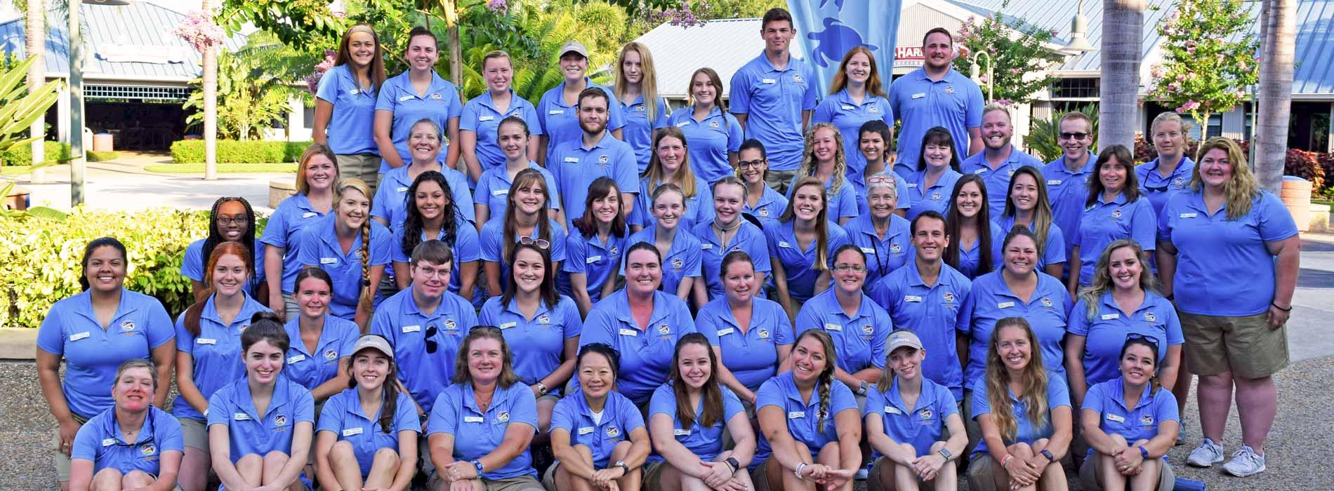 2019奥兰多海洋世界夏令营辅导员