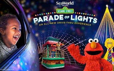 ALL-NEW Sesame Street Parade of Lights Drive-Thru Experience