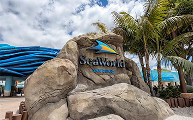SeaWorld San Diego Park Entrance