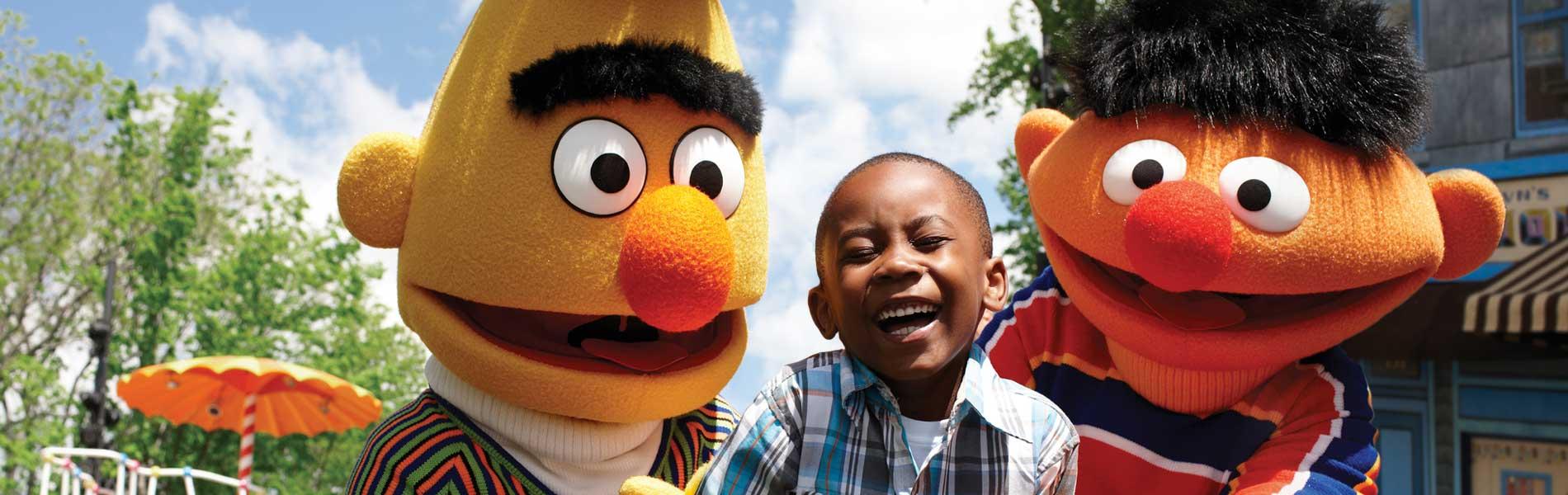 Bert and Ernie parade