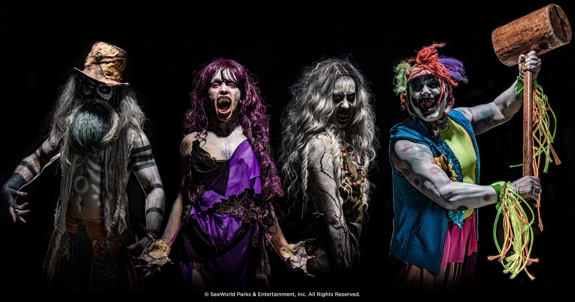 Howl-O-Scream Characters