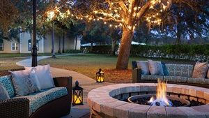 Residence Inn Orlando Outdoor Patio