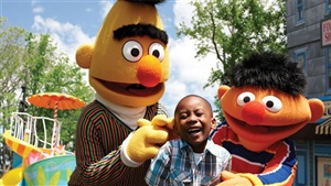 Sesame Street Party Parade - Bert and Ernie