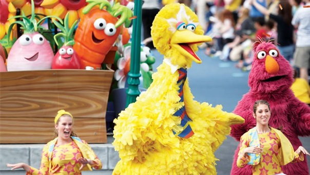 Sesame Street Party Parade - Big Bird