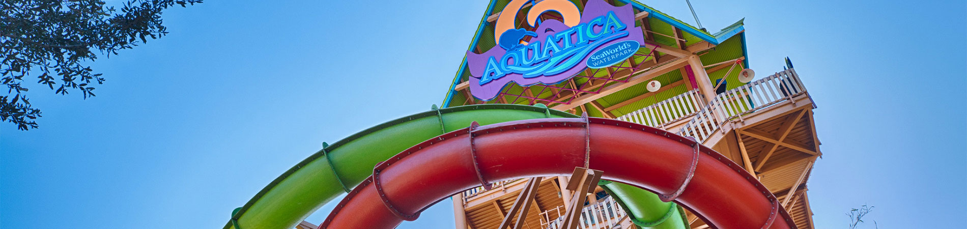 Slide and play at Aquatica, SeaWorld's water park in Orlando, Florida.