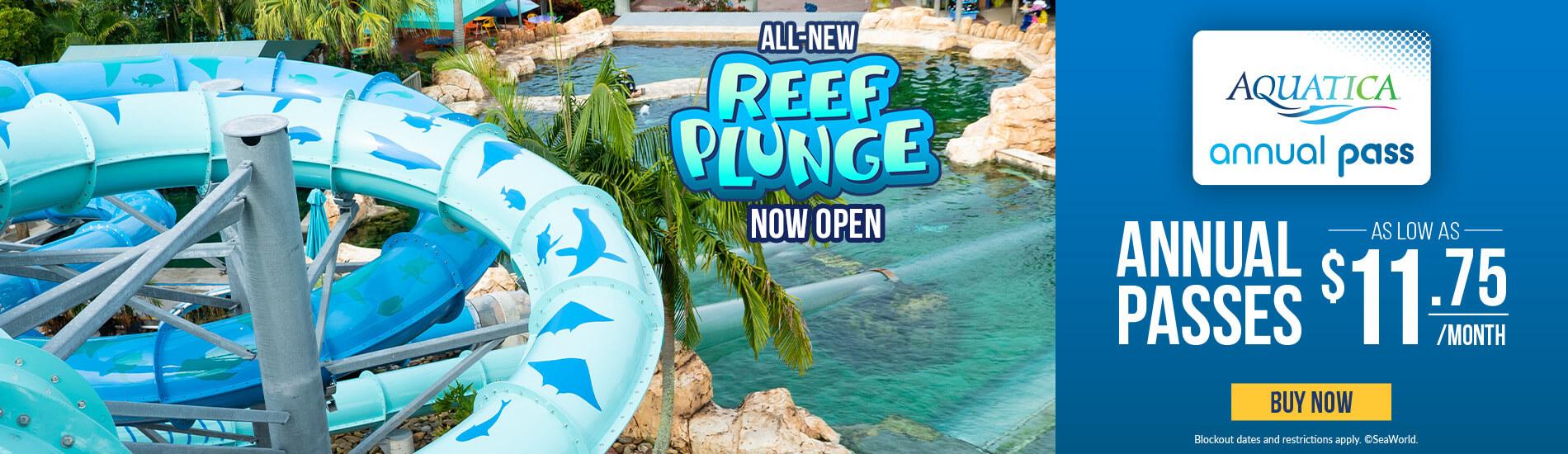Aquatica Orlando Annual Passes
