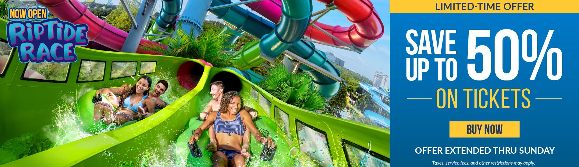 Aquatica Orlando Endless Summer Sale