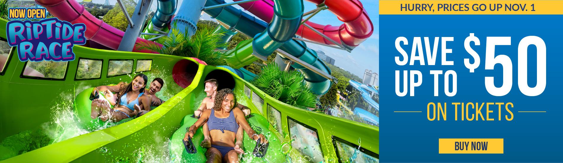 Aquatica Orlando Prices Go Up