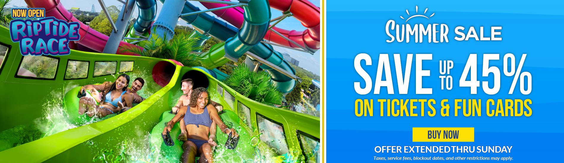 Aquatica Orlando Summer Sale