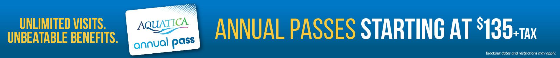 Aquatica Orlando Annual Pass