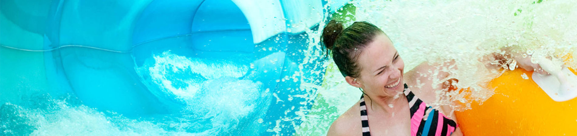 Slide and play at Aquatica, SeaWorld's water park in Orlando, Florida.