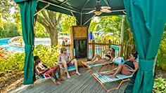 Enjoy a Cabana at Aquatica Orlando
