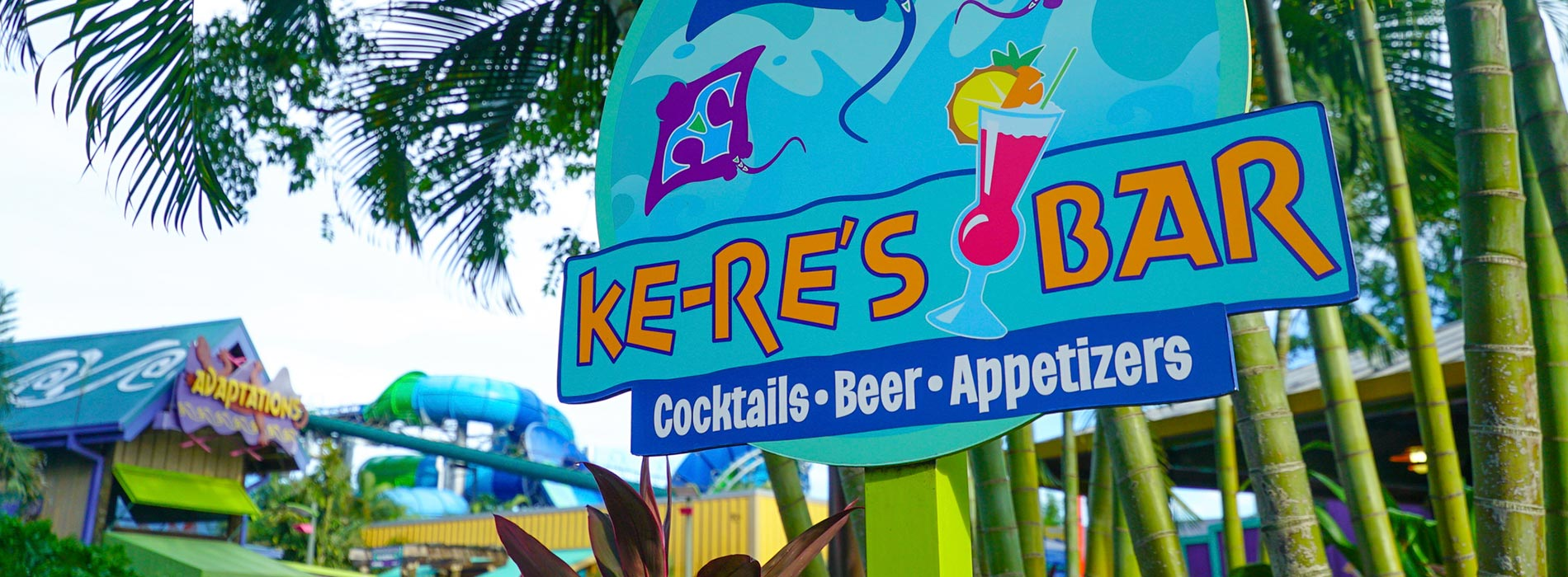 Ke-Re's Bar at Aquatica Orlando